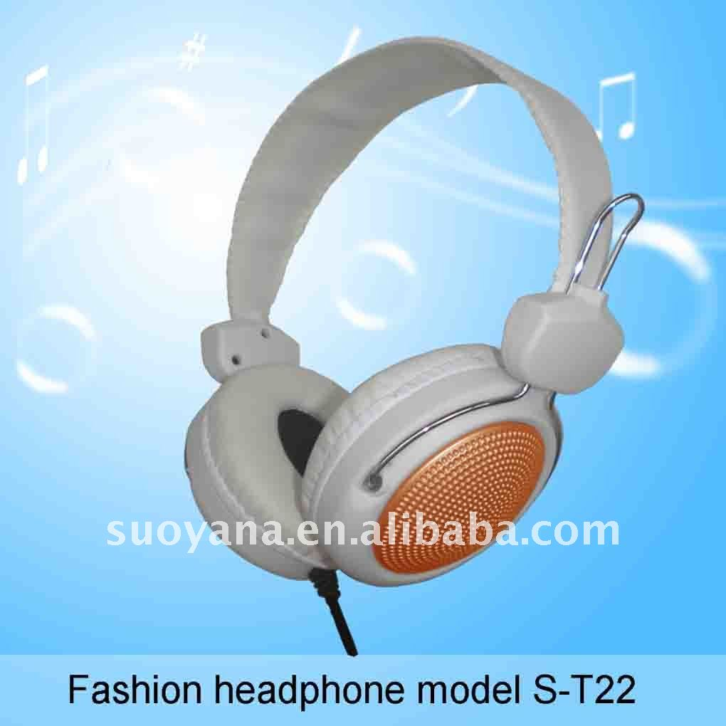 2011 best selling Salable over the ear headphone