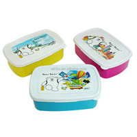 Food grade plastic food container for personalized