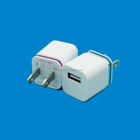 mini size universal usb power adapter 1A for smartphone