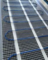 UL floor warming mat radiant heating