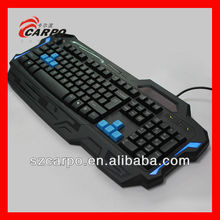 Rubber band gun wired keyboard for ipad 2 & 3, for ipad keyboard T911