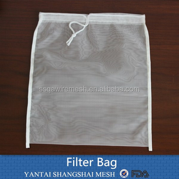high quality 2016 100 micron nylon dust collector filter bag