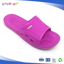 China manufacture wholesale fuxia toe cap shower room bathroom hotel home slipper
