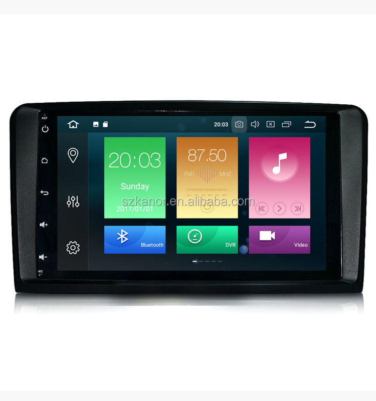 9'' IPS Touch Screen Android 8.0 For Benz ML/GL Class W164 ML 430 GL320 Car GPS Navigation System