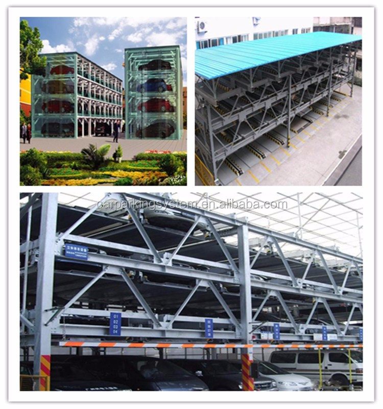 multi floors puzzle car parking lift system mini rotary car parking system smart parking system