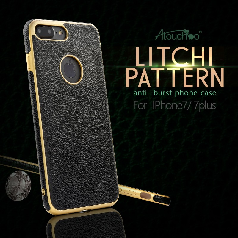 Atouchbo Ultra Slim TPU Gel leather Case Cover For Mobile Phone Apple iPhone 7 Plus