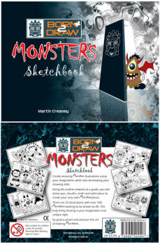 Born2Draw Monsters Sketchbook