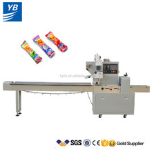 shanghai price high capacity YB-250 automatic lollipop pillow bag packing machine