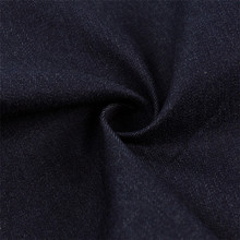 stretch recycled denim fabric/cotton lycra denim fabric stocklot/denim fabric 98 cotton 2 spandex blue