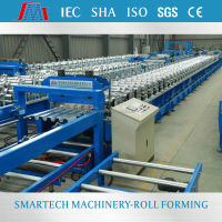 Cassette Type Metal decking floor sheet cold roll forming machine
