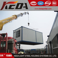 Steel Prefab shipping living container homes mobile house container