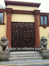 The fashion style wrought iron gate accessories