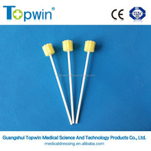 Tooth ette oral swabs/disposable oral cavity sponge stick