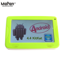 MaPan 7 inch Android 4.4 Tablet PC for Education Kid Children, smart with Silicone Protective Cover