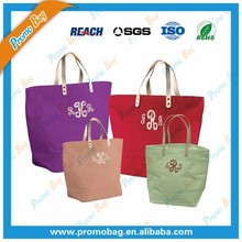 Women Jute Tote Bag Jute Shopping Bag