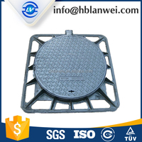 High Quality Die Casting Anti Theft Manhole Cover with Lock