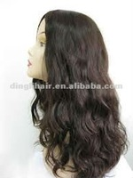Best quality Mongolian hair virgin hair Kosher jewish wig