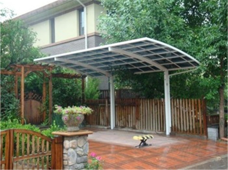 LanYu double car shed carport canopy for garden