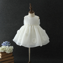 Wholesale white babies christening gowns communion dresses baby girl formal dress