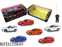 Most cheapest wireless remote control car rc toy 2 channel brand design 1:24
