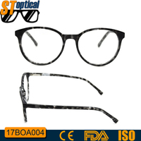 custom made optical eye famous brands acetate round glasses frame