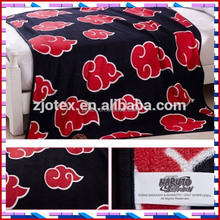 Anime Naruto Akatsuki Soft Warm Coral Fleece Throw Blanket Rug Plush