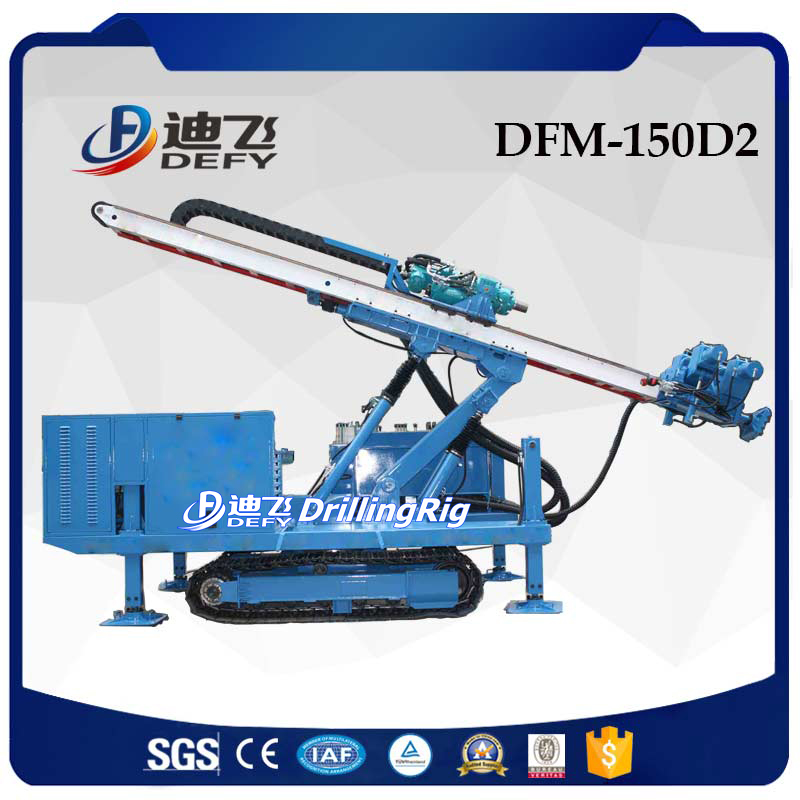 DFM-150D2 crawler mounted all hydraulic jet grouting drilling rig