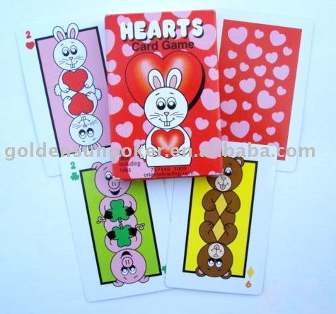 Hearts Card Game for kids