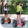 2 wheel standing up electric golf cart scooter with electric skateboard