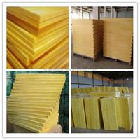 acoustic insulation glass wool made from natural and recycled materials with competitive price