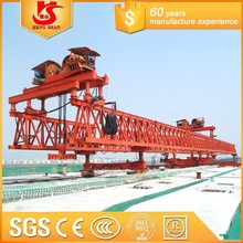 100T Truss type bridge launching girder erection machine