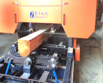 Electrical Log Sawmill machine for wood division