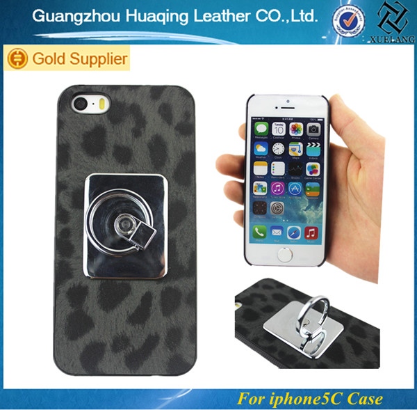 Hook Design leopard pattern Back Skin Case Cover Shell for iphone