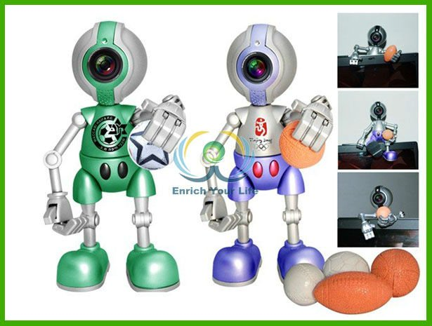 SWC-40 Chrismas gift USB 2.0 cartoon PC camera