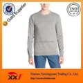 Grey plain blank pullover classic design swearshrts hoodies without hood