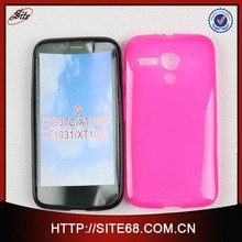 Wholesale Price Cell Phone Jelly TPU Case for Motorola Moto G