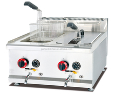 Stainless Steel Gas Chips Fryer for Restaurant or KFC fast food shop /Gas Deep Fryer