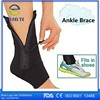 Black Adjustable Neoprene Ankle Support ankle protector ankle pad Wrap