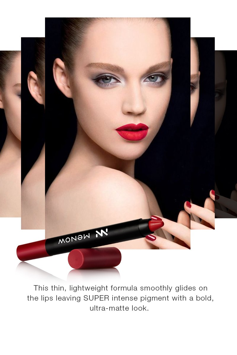 Makeup Cosmetics Lip Color LS02 Long Lasting Lip Pencil