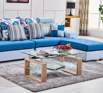 Living Room Furniture MDF Coffee Table , Cheap New Model Living Room  Furniture