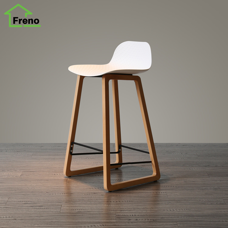 FN-5501 solid wooden design wooden bar chair