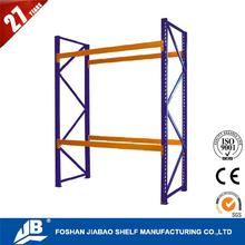 durable shelves movable heavy duty teardrop pallet rack with low price