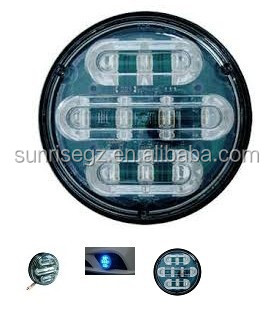 Truck LED Strobe Lightheads /LED Security Emergency Flash Strobe light /Dash light /Grille light (SR-LS-LD-R01),Power LED,Round