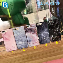 Latest Design IMD Glossy Marble TPU Cell Phone Cover Case for iPhone 7 Marble Case, For iphone 7 Case tpu