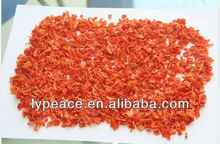 Top quality dried minced carrot cubes