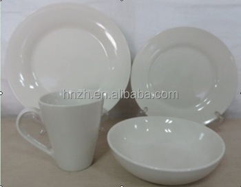 16pcs AB grade Porcelain cheap dinnerware set