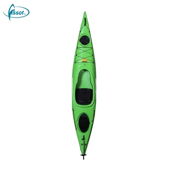 Hot sale no inflatable 3.6 meters sit in kayak wit paddle