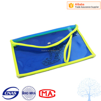 Wholesale women cheap pirce PVC envelope bag and clear plastic clutch bag