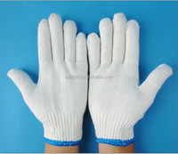 Cotton Gloves with Rubber Dots