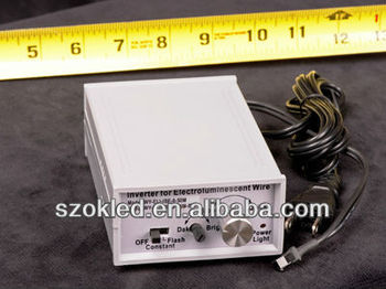 0-50m 220V el wire driver, AC Inverter for el wire